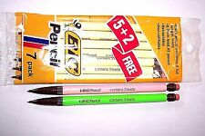 Vintage BIC 0.7mm Mechanical Pencils - 5+2 Pack +2: New Old Stock!