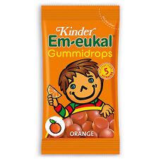 Made in Germany- Em-Eukal Gummy Vitamin Candy for kids -ORANGE-Sugar Free-75g