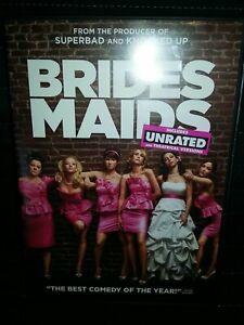 Bridesmaids DVD Paul Feig(DIR) 2011~MELISSA MCCARTHY~UNRATED~MAYA RUDOLPH~COMEDY