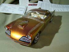 Danbury Mint 1957 Studebaker Custom 2 door Coupe Gold/Bronze Mint in Box