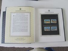 British Commonwealth Faux Leather Album/Case (210) stamps,50 countries 1983 Mint