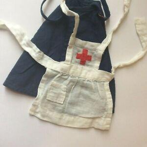 Attractive Nurse Apron & Cape for a fashion doll vintage dolls clothes