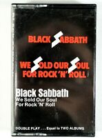 Black Sabbath - We Sold Our Soul for Rock 'N' Roll - Cassette Tape