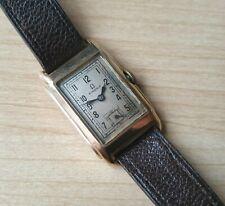 Men's Rare Vintage .375 9ct Gold Manual Winding Omega Wrist Watch