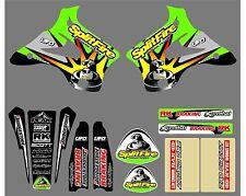 Vintage/Evo 1994-1998 Splitfire kx125/250 Kit completo de la etiqueta, nuevo