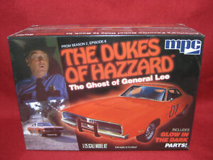 Dukes of Hazzard GHOST General Lee 1969 Dodge Charger MPC 1:25 Model Kit MPC754