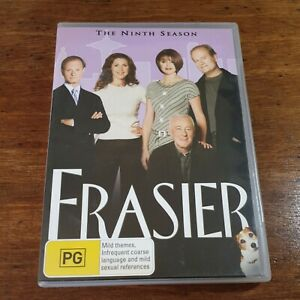 Frasier Season  9 DVD R4 LIKE NEW FREE POST