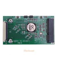 1pc Mini SATA mSATA PCI-E IPOD SSD to 40pin 1.8 Inch ZIF CE Converter Card #T1K