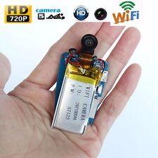 Diy 720p Hd wireless Ip Wifi nanny Dvr Recorder hidden spy camera mini Camera