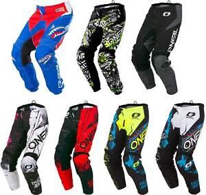 O'Neal Youth Element Pants - MX Motocross Dirtbike Offroad ATV MTB Boys Gear