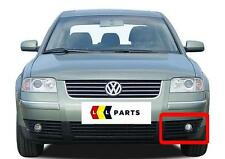 VW PASSAT B5 00-06 NEW GENUINE FRONT BUMPER N/S LEFT LOWER FOG GRILL 3B0853665L