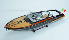 "Riva Rama 35"" - Handmade Wooden Speed Boat Model"
