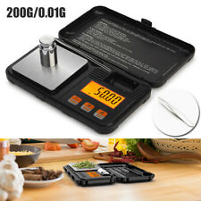 0.01-200g Pocket Size LCD Digital Balance Kitchen Jewelry Gold Scale Food Weight