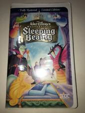 Walt Disney's Sleeping Beauty Limited Edition Masterpiece Collection VHS 9511