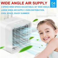 Mini Air Conditioner Cooler Fan USB Cooling Fan Portable Humidifier Purifier #