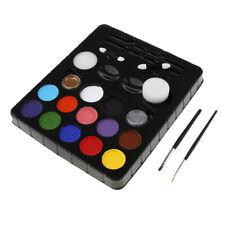 Technik Gesicht Körper Farben Paletten Satz Make up DIY Malerei Party Club