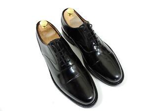New Joseph Cheaney Mens Shoes Oxford Caps Dainite UK 9.5 US 10.5 EU 43.5 Black