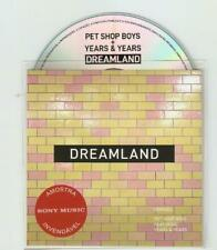 "PET SHOP BOYS & YEARS & YEARS ""DREAMLAND"" BRAND NEW OFFICIAL 11 REMIX PROMO CD"