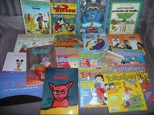 Lot 20 Livres jeunesse divers pour enfants ( école des max, cascade, toboggan...