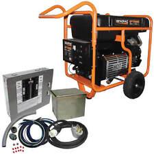 Generac GP17500E - 17,500 Watt Electric Start Portable Generator w/ Power Tra...