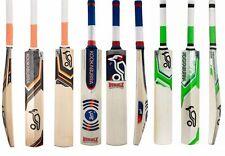 3 in 1 Pack KOOKABURRA ONYX + BUBBLE + KAHUNA Cricket Bats + Free Nokd~Oil