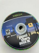 Microsoft Xbox Disc Only Tested Grand Theft Auto Iii Gta 3