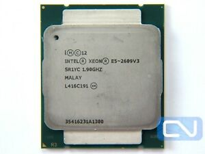 Intel Xeon E5-2609 V3 1.9GHz 15MB 6.4GT/s SR1YC LGA2011 Fair Grade CPU Processor