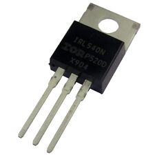 2 irl540n international rectifier MOSFET transistor 100v 36a 140w 0,044r 854706