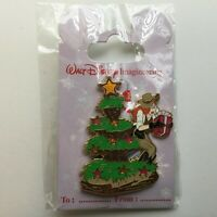 WDI - Frontierland Christmas Tree with Jessica Rabbit - LE 300 Disney Pin 74507