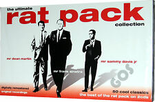 The Ultimate Rat Pack Collection 2 CD Tracks Of Classic American 50s Music Songs
