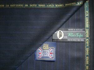 """Reid & Taylor SUPER 120's WOOL """"THE ESKDALE COLLECTION"""" MADE IN SCOTLAND- 3.82 m"""