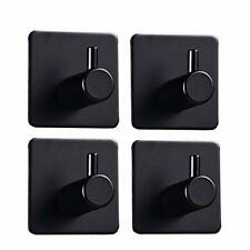 Grelity 4 Pack Adhesive Hooks Self AdhesiveWall Mounted Hanger for Key Robe C.