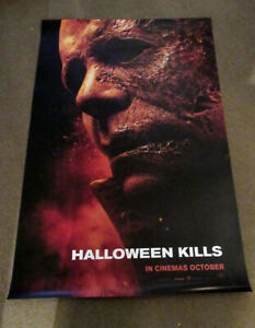 Halloween Kills ORIGINAL D/S one sheet poster  Jamie Lee Custis John Carpenter