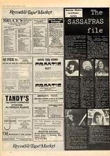 Sassafras Factfinder MM5 1975