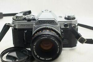 Canon AE-1 film Camera w/ FD 50mm f1.8 SC lens *Excellent*