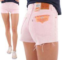 Levi'S Damen Jeansshort 501 Rosa W24 - W29