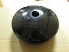 """NEW Tall Black Plastic Round End Cap Cover Tube Pipe Dock Post Fence 5"""""""