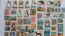 50 Different Rhodesia (Independent) Stamp Collection