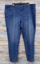 Jones NY Plus Jeans 22W x 28 Women's Lexington Classic Ankle    (I-37)
