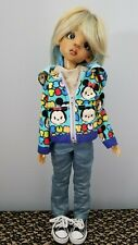 Minnie Mickey Hoodie Set 18 In Msd Bjd Kaye Wiggs Doll or similar Lowe Frost
