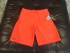 Under Armour Golf boys adjustable waist loose fit golf shorts size Yxl; Nwt