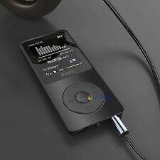 "1.8"" TFT Black RuiZu X02 HiFi 4G MP3 MP4 Music Player FM Recorder TF Card US TE"