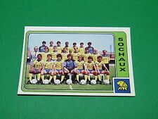 N°279 EQUIPE FC SOCHAUX FCSM PANINI FOOTBALL 86 CHAMPIONNAT FRANCE 1986