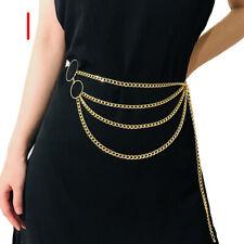 Women Retro Metal Waist Chain Belt Dress Waistband Body Chain Belts Fashion New