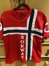 Nord Suvenir Norway Jersey Shirt Big Flag Short sleeve size: Small