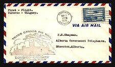 Canada 1030 FFC Toronto to Calgary - L769