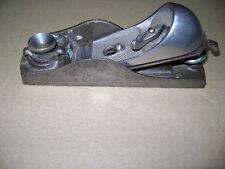 "Vintage 6 1/2"" Craftsman Block Plane 619-3704 Blade Wood Tool"