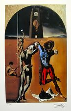 Salvador Dali POETRY OF AMERICA Facsimile Signed & Numbered Giclee