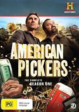 American Pickers : Season 1 (DVD, 2011, 3-Disc Set) NEW & SEALED R4 DVD PAL