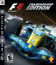 Formula One CHAMPIONSHIP EDITION PS3
